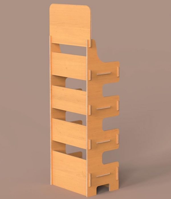 sys Shelf Stand cnc Plywood