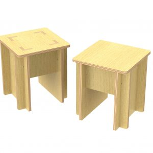 DXF Vector PlyChair_Jan2020_s1 CNC Furniture